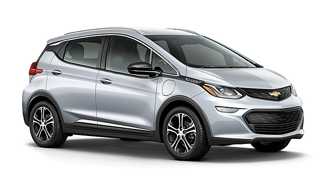 chevrolet bolt ev car