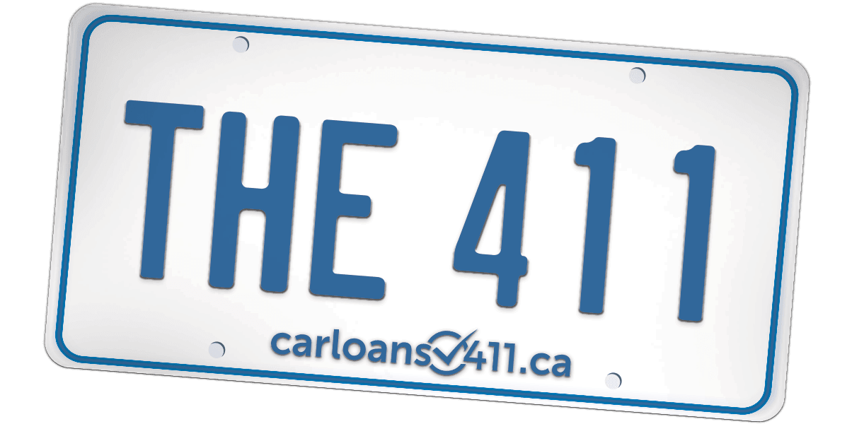 the 411 license plate