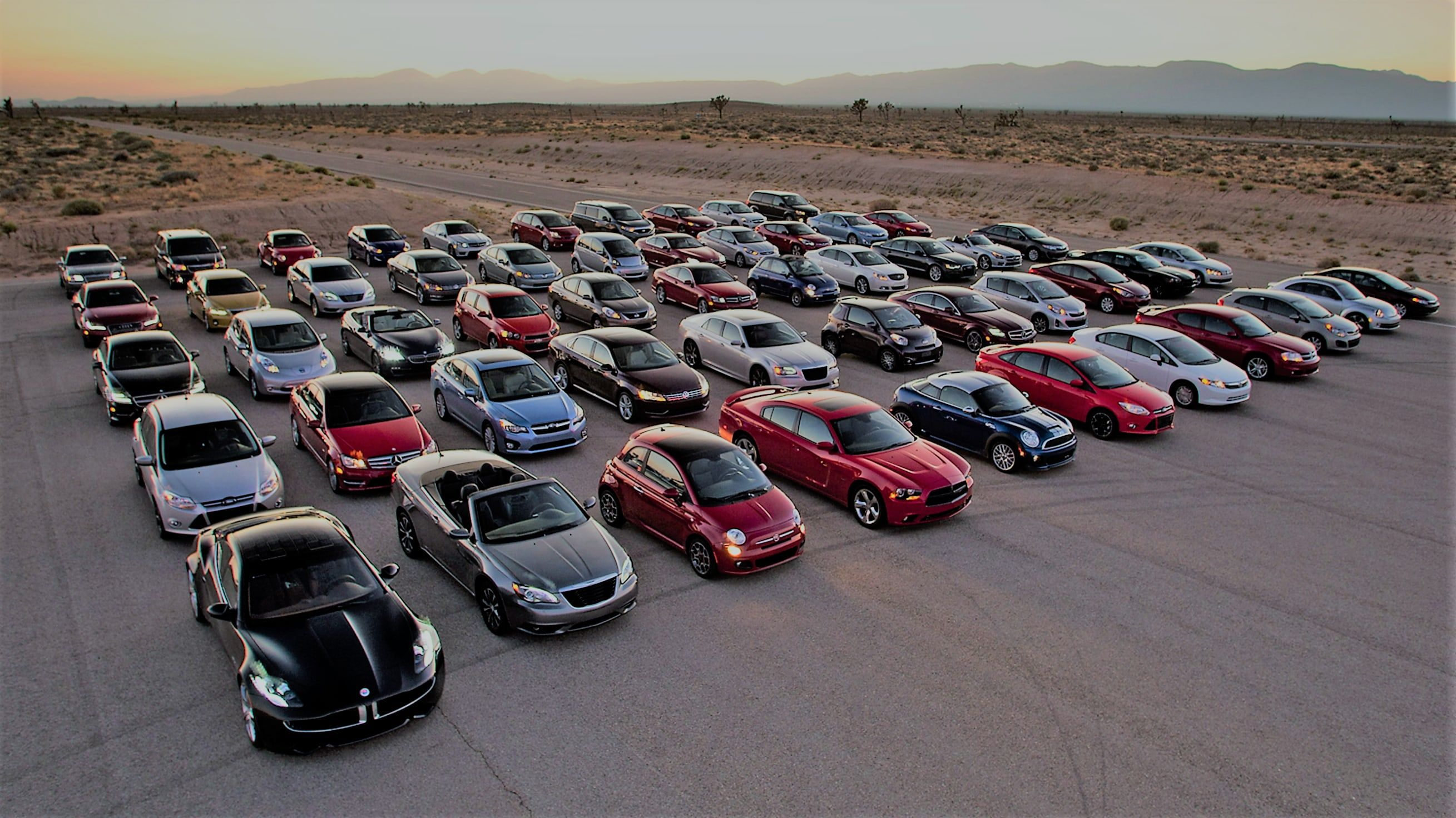 Different cars from different countries