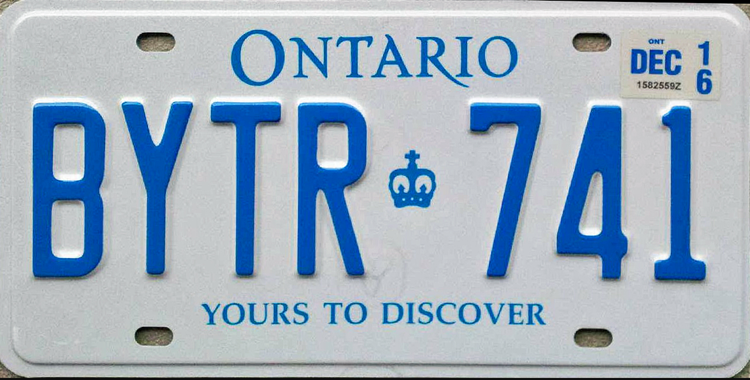 Ranking All The Canadian License Plates From Worst To Best