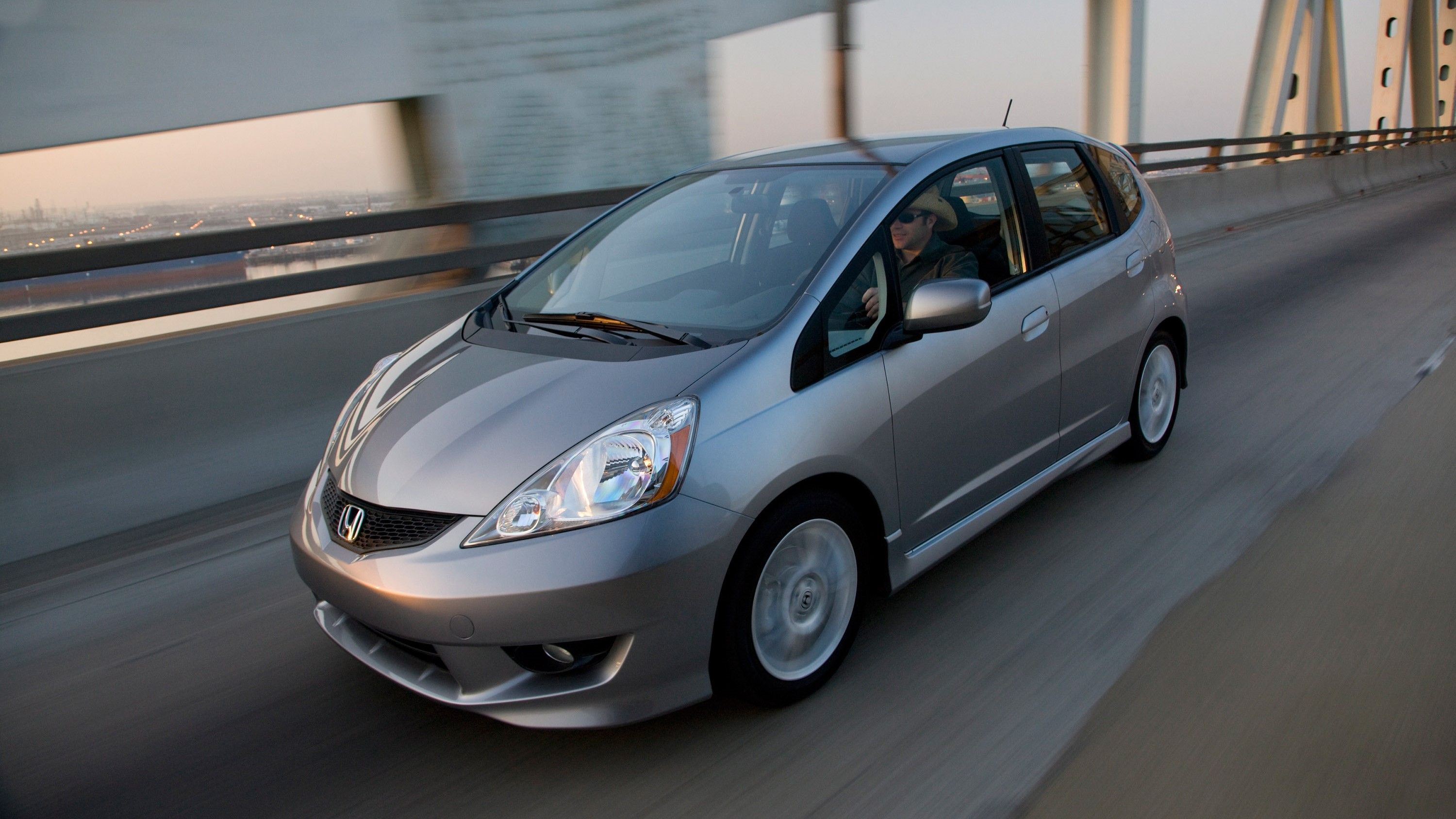 greay honda fit