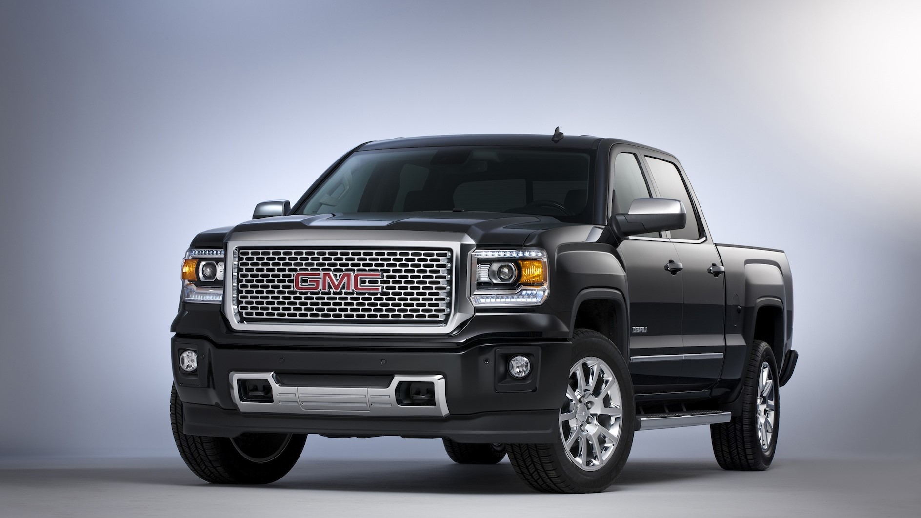 black gmc denali