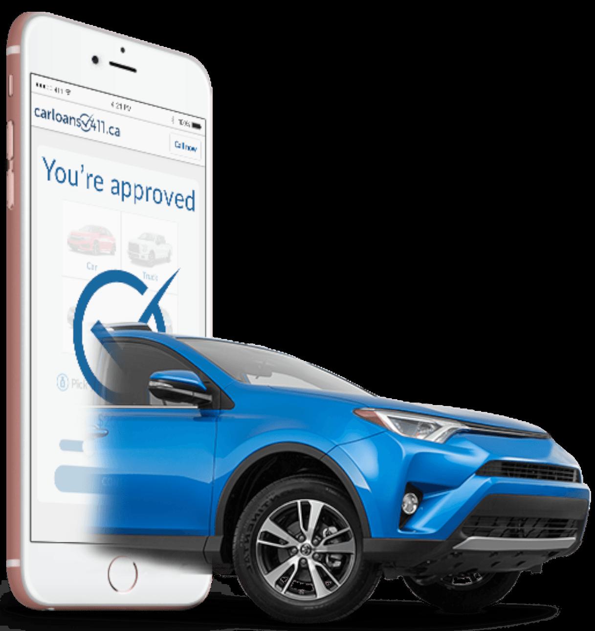 Car And Phone